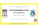 ASTA STRAORDINARIA IN SEDE IL GIORNO 26 SETTEMBRE 2018 H 15.00