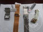 Immagine di Lotto 10: N. quattro orologi in metallo al quarzo