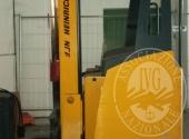 """Fall. Trans Vector 2 Srl n. 921/2017 - LOTTO 4: Carrello elevatore elettrico, retrattile, marca """"Jungheinrich"""" mod. ETV 112; macchina incellophanatrice marca Robopac"""