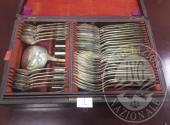 EG n. 34214/2017 - N. 12 lotti comprendenti posateria in argento, collane, ciondoli, spille e beni d' antiquariato