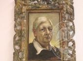 RGE 3730/2017 Tribunale di Bergamo - Lotto 5: Un dipinto olio su cartoncino, di cm. 29,5 × 20 del Pittore Giorgio De Chirico, raffigurante