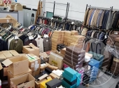 (Lotto n.1) - Vendita in blocco di ingente quantitativo di scarpe, abbigliamento ed accessori, uomo e donna