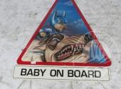 Sequestro Giudiziario 4272/2012 - Lotto 34: Grande cartello stradale triangolare+ cartello rettangolare